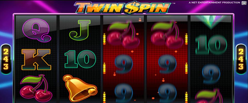 Twin $pin kolikkopeli