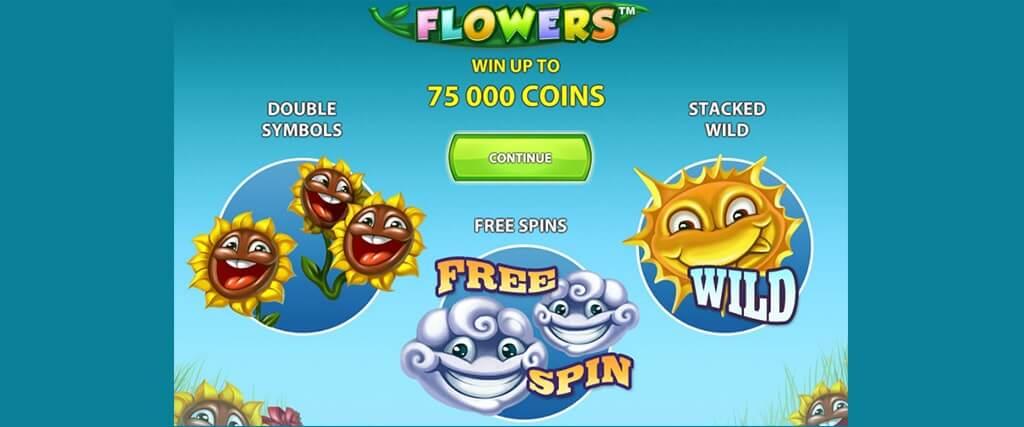Flowers kolikkopeli