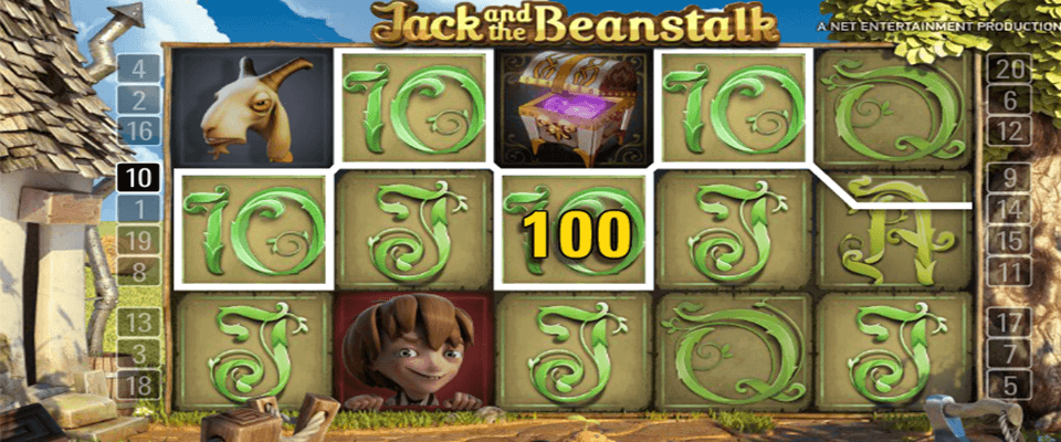 Jack and the beanstalk kolikkopeli