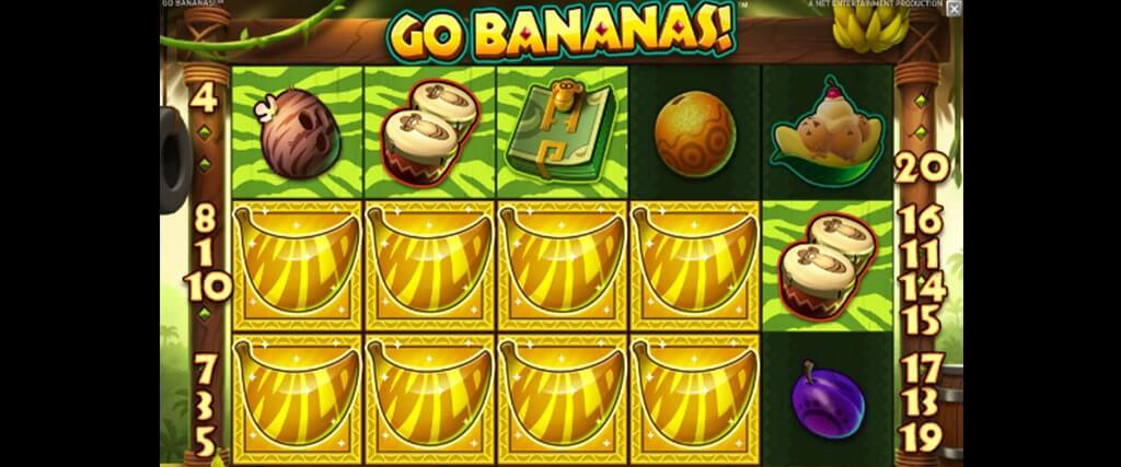 Go Bananas! kolikkopeli