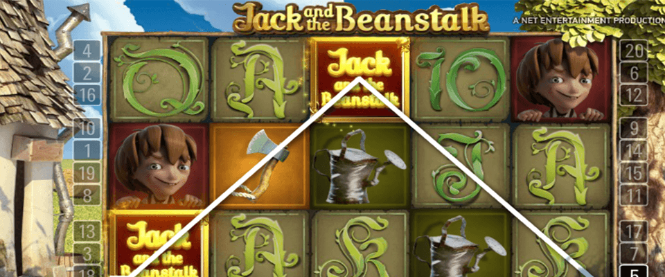 Jack and the beanstalk hedelmäpeli
