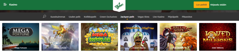 Mr Green Mega Moolah