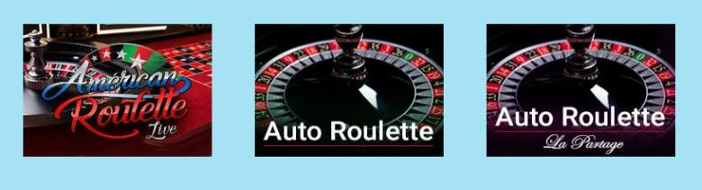 Ruletti Reeltastic kasinon valikoimissa