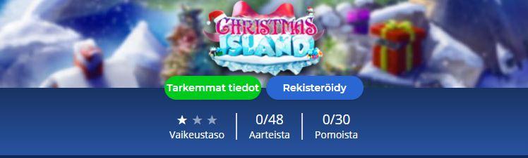 Casino Heroesin joulusaari