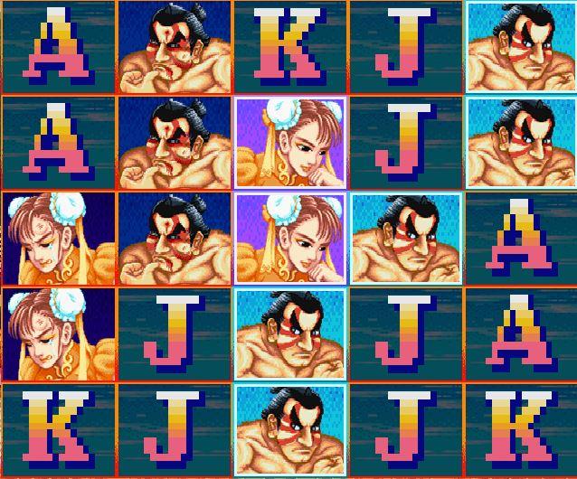 Street Fighter 2 kolikkopeli